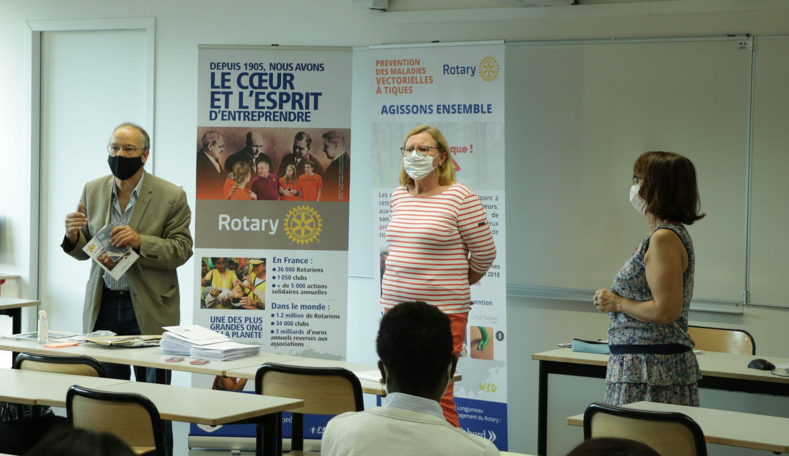 Collaboration avec une classe du lycée Jacques Prévert de Longjumeau